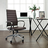 VALLIX HIGHBACK OFFICE CHAIR IN BROWN