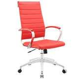 VALLIX HIGHBACK OFFICE CHAIR IN RED