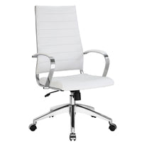 VALLIX HIGHBACK OFFICE CHAIR IN WHITE