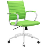 VALLIX MID BACK OFFICE CHAIR IN BRIGHT GREEN