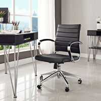 VALLIX MID BACK OFFICE CHAIR IN BLACK