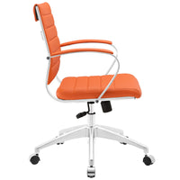 VALLIX MID BACK OFFICE CHAIR IN ORANGE