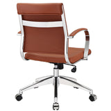 VALLIX MID BACK OFFICE CHAIR IN TERRACOTTA