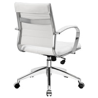 VALLIX MID BACK OFFICE CHAIR IN WHITE