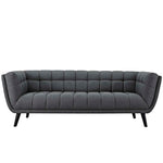 ENVI UPHOLSTERED FABRIC SOFA IN GRAY
