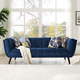 ENVI VELVET SOFA IN NAVY
