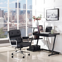 COLTON OFFICE CHAIR IN BLACK