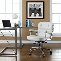 COLTON OFFICE CHAIR IN WHITE