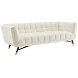 BOVA UPHOLSTERED FABRIC SOFA IN IVORY