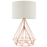 KARAT ROSE GOLD TABLE LAMP