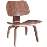 BEACON WOOD LOUNGE CHAIR IN WALNUT
