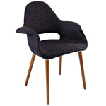 VALOR DINING ARMCHAIR IN BLACK