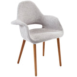 VALOR DINING ARMCHAIR IN LIGHT GRAY