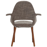 VALOR DINING ARMCHAIR IN TAUPE
