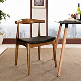MARVIN DINING SIDE CHAIR IN BLACK