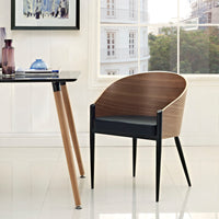NIXON DINING WOOD ARMCHAIR IN WALNUT