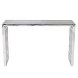 MARADO CONSOLE TABLE IN SILVER