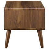 MODESTO NIGHTSTAND IN WALNUT WHITE