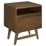 CAPPI WOOD NIGHTSTAND IN CHESTNUT