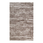 EXTRACT DISTRESSED RUSTIC MODERN 8X10 AREA RUG IN LIGHT AND DARK TAN