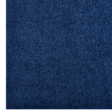 FLATTE SOLID 5X8 SHAG AREA RUG IN NAVY