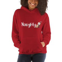 Load image into Gallery viewer, Unisex Christmas Naughty Hoodie