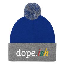 Load image into Gallery viewer, Dope-ish Sports Pom Pom Knit Cap