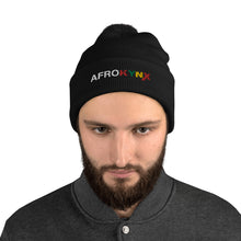 Load image into Gallery viewer, Afrokynx Pom-Pom Beanie