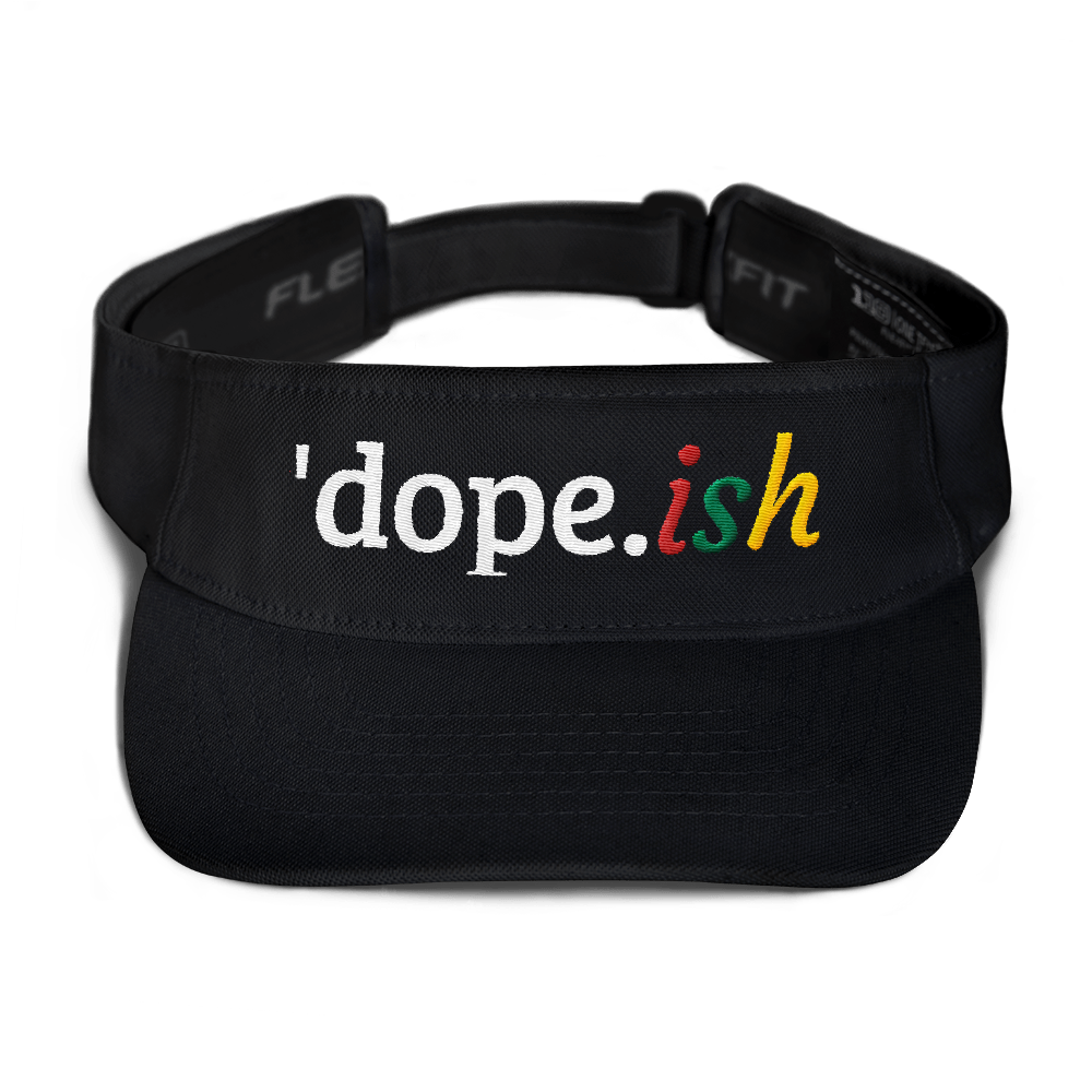 Dope-ish Embroidered Visor Ladies Baseball Cap