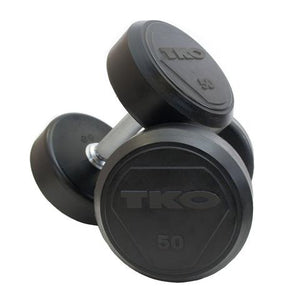 Dumbbell Set 22-40kg (2kg increments /10 pairs) Rubber TKO