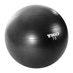 TKO Gym Ball  75cm (122FBP-RD-75)
