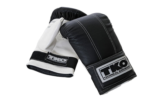 TKO Pro Style Bag Gloves (Pair)  Small/Medium (501DPB-S/M)