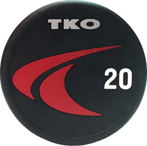 Barbell Fixed Straight Signature Urethane TKO