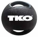 TKO Double Grip Medicine Ball  9kg