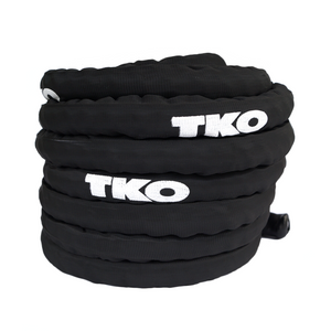 "TKO Battle Rope 1.5"" 50ft with Nylon Cover (256BR-1.5-50)"