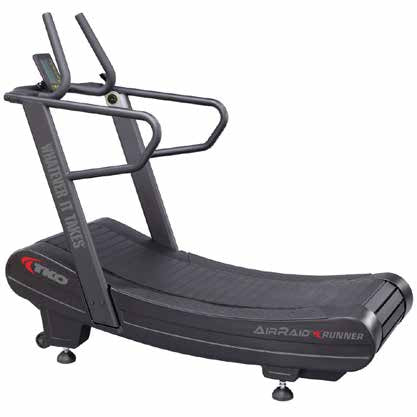 TKO Air Raid Runner Curved Treadmill