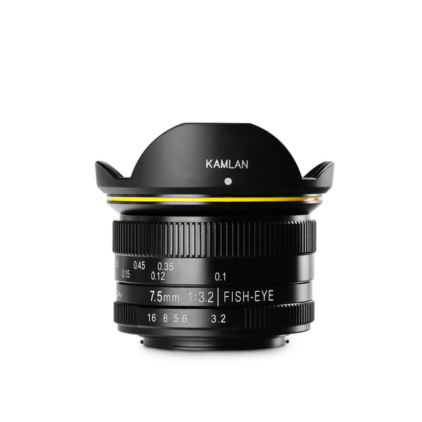 7.5MM F/3.2 Fisheye Manual Lens