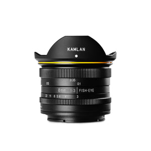 8MM F/3.0 Fisheye Manual Lens