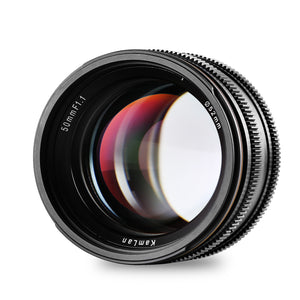 50mm F/1.1 Manual Lens, 1st Gen