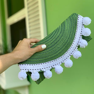 The Palm Palm Clutch