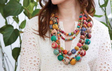 Kantha Isla Necklace