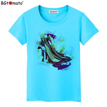Load image into Gallery viewer, BGtomato New Summer T shirt Women