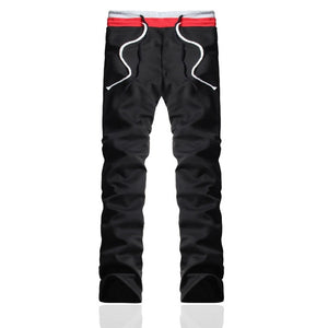Straight Trousers All-matched Joggers Workout Pants Teenage Boy Trousers
