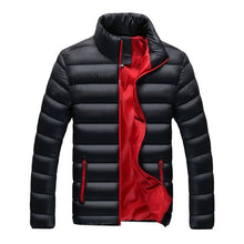Load image into Gallery viewer, Puffer Jacket Casual Slim Stand Collar
