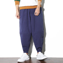Load image into Gallery viewer, Chinese Style Linen Casual Baggy Pants for Men