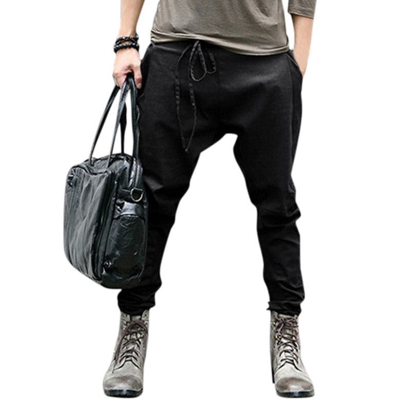 Stylish Hiphop Men's Harem Pants Slim Fit