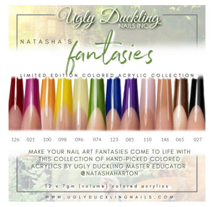 NATASHA'S FANTASIES- COLOURED ACRYLIC COLLECTION