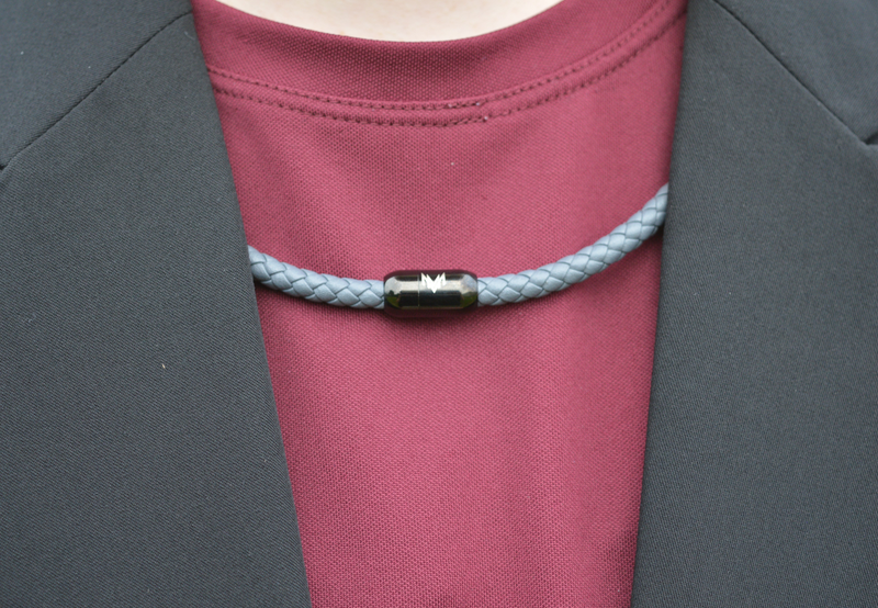 Logo Choker - Mountain Gray