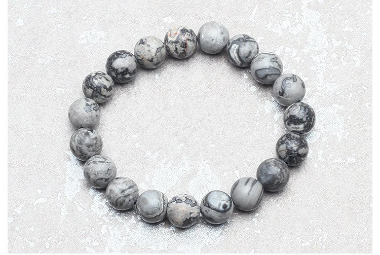 Gray Map Stone 10mm Stacker
