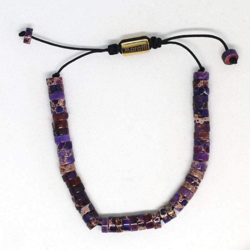 Purple Disc Bead